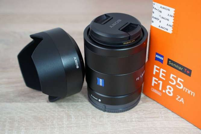 Sony FE 55mm F1.8 ZA Carl Zeiss Новый