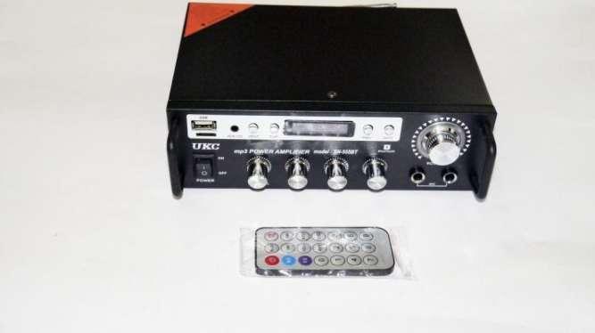 Усилитель звука UKC SN-555 BT - USB, SD-карта, MP3