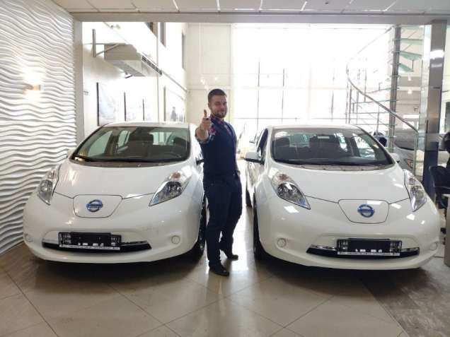 Nissan Leaf 2015 S+ USA Нисан Лиф 2015 США