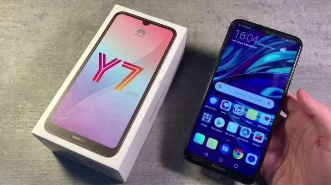 Huawei Y7 Prime 2018 на 2 сим-карточки орыгинал