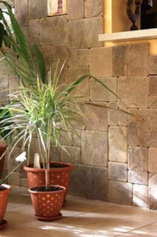 окатанная плитка из песчаника природного