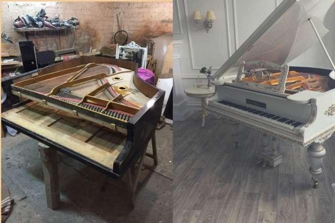 Реставрация и ремонт мебели под заказ