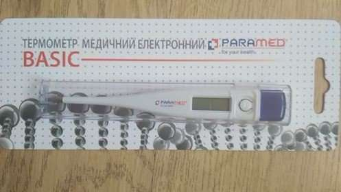 Термометр электронный Basic Paramed