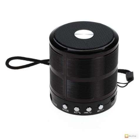 Bluetooth колонка WS-887 (черный)