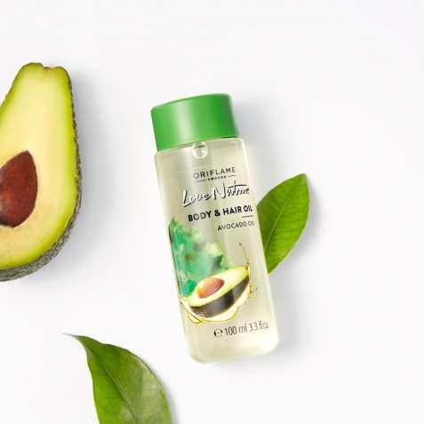 Масло для тела и волос «Авокадо»