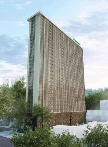 В продаже однокомнатная квартира в центре города в новом сданном доме.