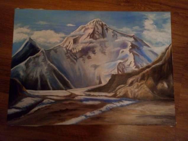 """Картина """"Гора"""""""
