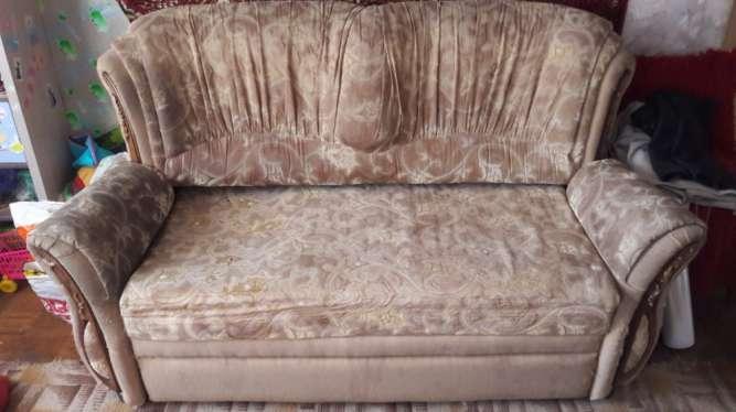 Продам диван раскладной, двухспальный, б/у