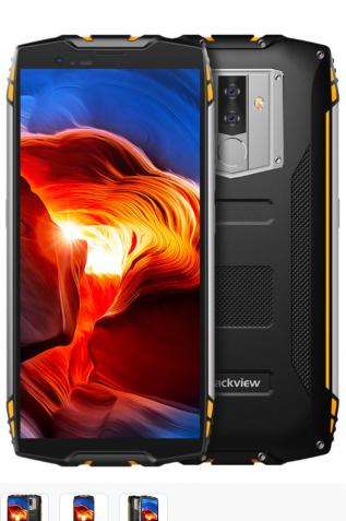 Blackview bv 6800 pro Жёлтый ip68/ip69 NFC.