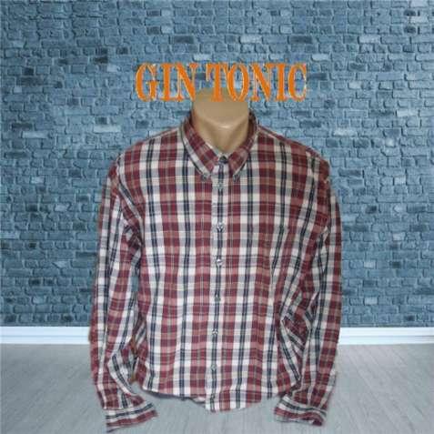 Gin Tonic Хлопковая мужская рубашка длинный рукав XL