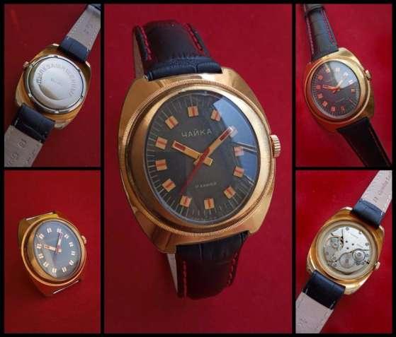 СОВЕТСКИЕ часы « ЧАЙКА_AU-10»  механика сделанная в СССР 70-х.