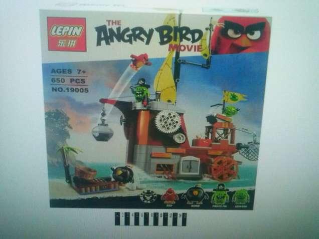 """Конструктор Lepin """"Angry Birds"""" 19005 Пиратский корабль свинок"""