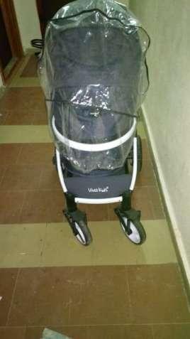Универсальная коляска трансформер 2 в 1 Viva Kids Province Q7 Синяя