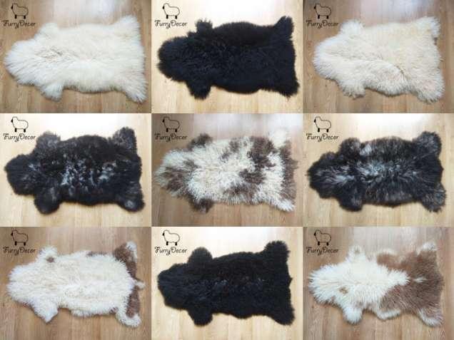 Шкура овечья, Ковер из овчины, Овчина натуральная, Исландская порода