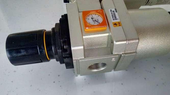 Фільтр-регулятор повітря для компресора, прохід G1, 6400 л/хв. - зображення 2