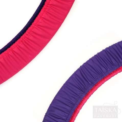 Чехол для обруча двухсторонний «Фиолетовый и Малина»