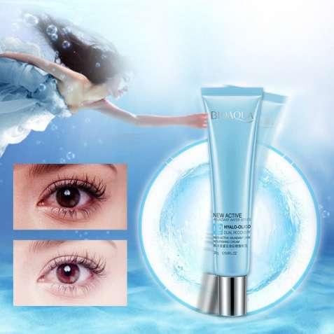 Крем для кожи вокруг глаз bioaqua  с олигомером гиалуроновой кислоты