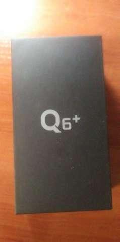 Lg q6+ blue 4/64gb (q6 plus) телефон