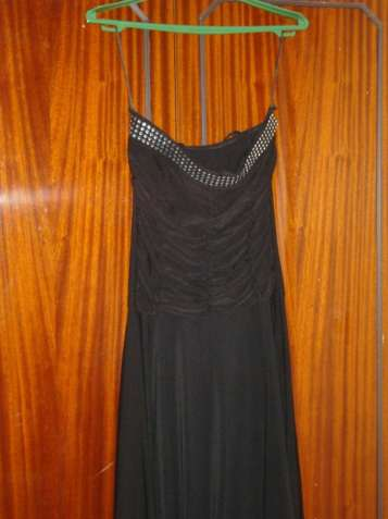 Платье черное итальянское