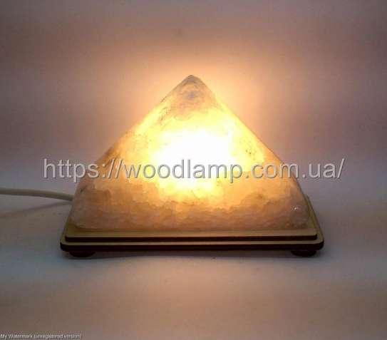 Соляной светильник Треугольник маленький, лампа, ночник