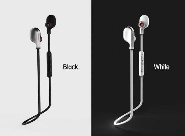 Спортивные беспроводные Bluetooth наушники вкладыши Remax S18