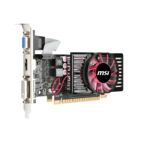 Видеокарта MSI GT 630 1gb 128bit, Б/у ( как новая ) для настольного пк