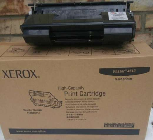Картридж Phaser 4510 series  Max  xerox 113R00712 virgin пустышка