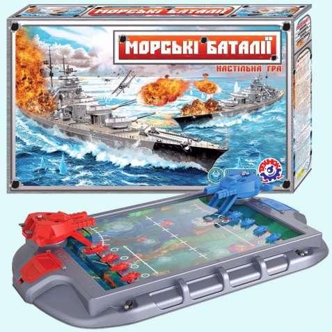 Настольная игра «Морские баталии» 1110 ТехноК