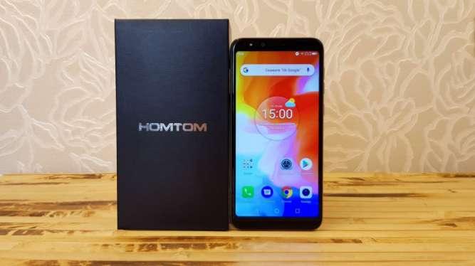 Смартфон Homtom H5 3Gb/32Gb Gold