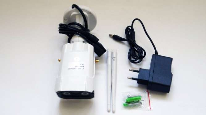 IP WiFi камера X8200 с удаленным доступом уличная