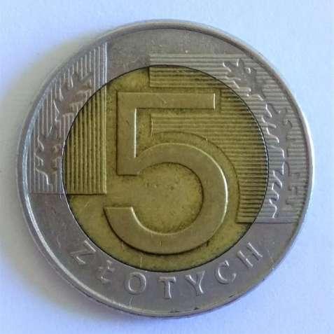 5 злотых 1996 года, Польша