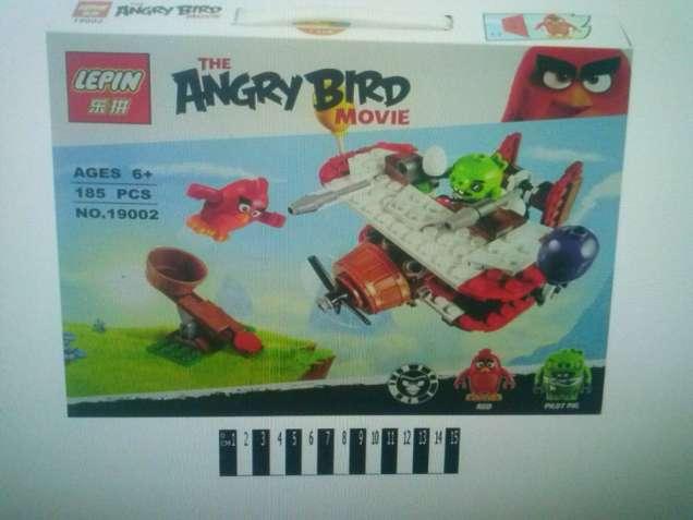 "Конструктор Lepin ""Angry Birds"" 19002 Самолетная атака свинок"