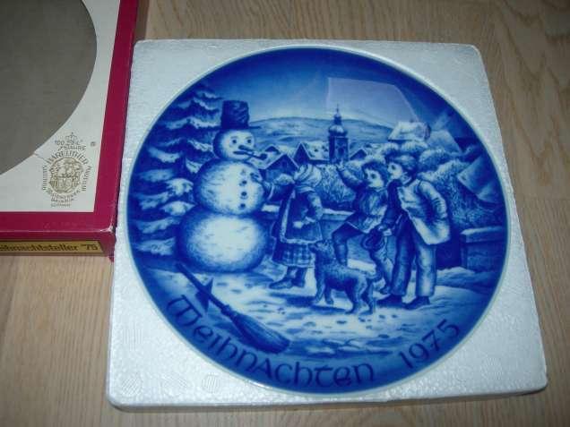 Тарелка-панно, Рождество, Bareuther, Bavaria, Германия, 1975 год