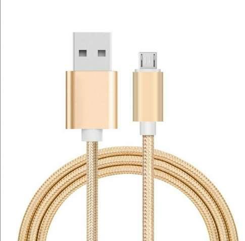 Кабель ( шнур ) микро USB для зарядного устройства на телефон. 2 метра