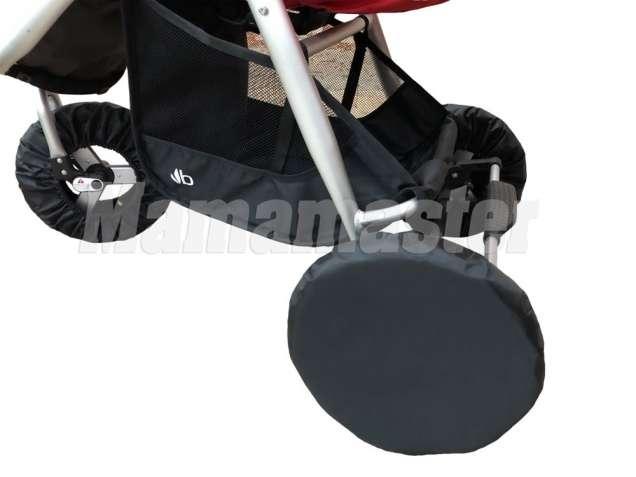 Чехлы на колёса детской коляски