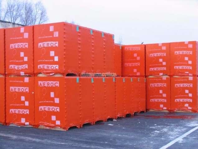 Блоки АЭРОК  300х200х600 цена, вес и характеристики