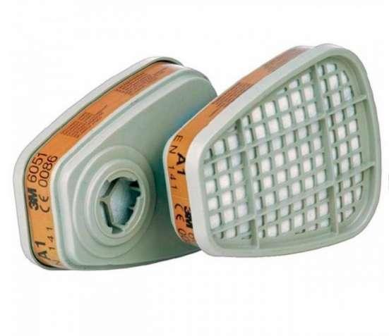 Продам Фильтра для респиратора 3M 6051 соответствуют классу защиты А1