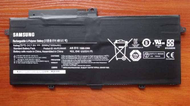 Оригинальная аккумуляторная батарея Samsung AA-PLVN4AR 7300mah