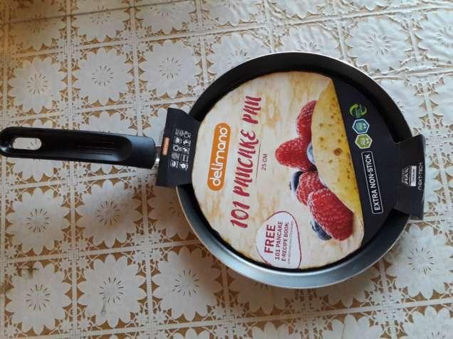 Сковорода блинная, Delimano, 25 Х 1, 8 см. Италия. Оригинал.