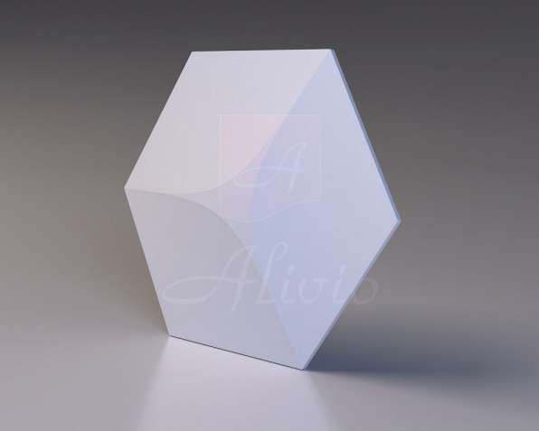 Гипсовые 3D панели Alivio серия Hexagon от производителя