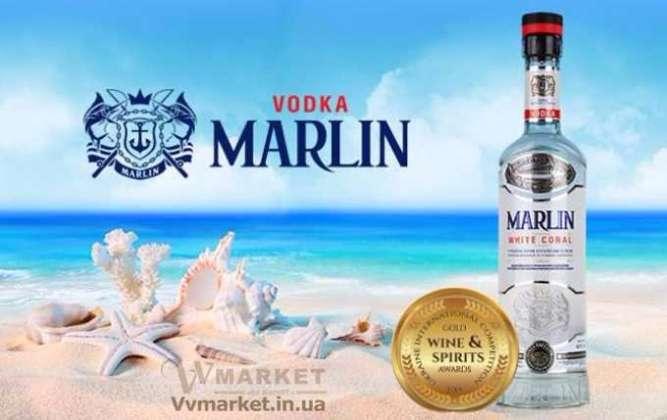 Поймай Марлина (премиальная водка очищенная белым кораловым песком)