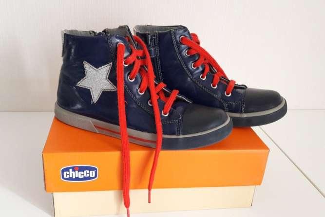 Демисезонные кеды, ботинки Chicco для девочки