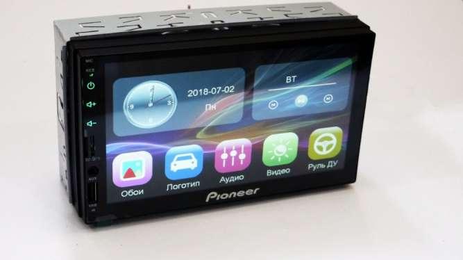 "2din Pioneer 7023 GPS Магнитола 7"" Экран (Короткая база)"