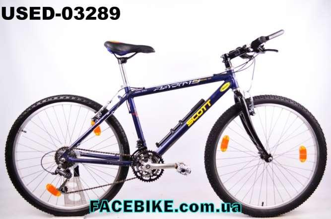 БУ Горный велосипед Scott-Гарантия,Документы-у нас Большой выбор!