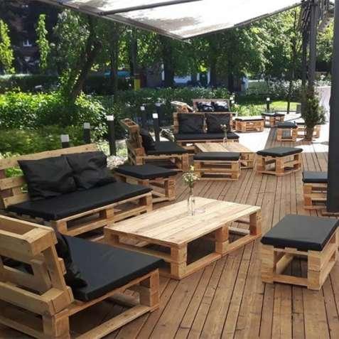 Мебель лофт loft для пабов баров кафе ресторанов беседок садовая мебел
