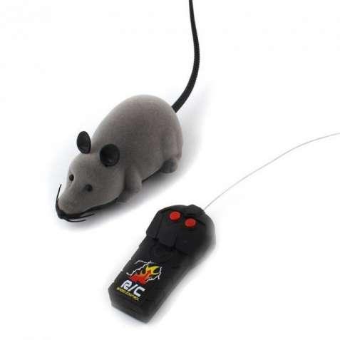 Мышь для кота с пультом радиоуправления
