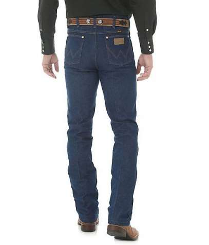 Джинсы Wrangler 936 Cowboy Cut Slim Fit Rigid Indigo Denim Мексика