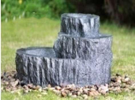 Фонтан декоративный Каменный пень №9537