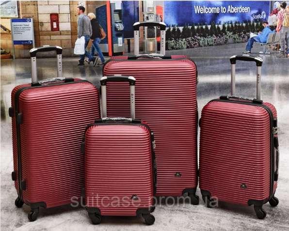 Чемоданы Fly 9124 Poland. Поликарбонат. чемодан сумки на колесах - зображення 3