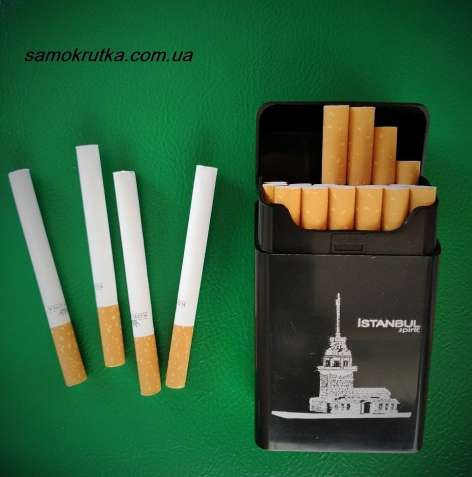 Портсигар футляр для сигарет самокруток DEDO